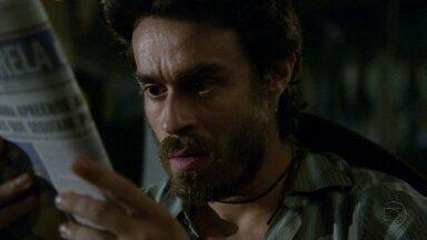 Amor Eterno Amor - capítulo de quinta-feira, dia 08/03/2012, na íntegra - Tobias vê retrato falado de Rodrigo e acha parecido com Carlos
