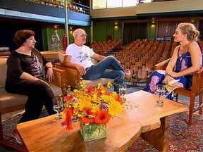 Angélica bate um papo com Jandira Martini e Marcos Caruso - Os dois atores falaram sobre a amizade dos dois, que já dura 30 anos