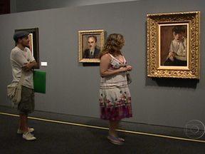 Pintor italiano é tema da maior exposição já realizada no Brasil - Amedeo Modigliani é considerado um dos nomes mais importantes da arte moderna. A exposição do Museu Nacional de Belas Artes, no Rio de Janeiro, reconta a vida do pintor. A mostra vai até o dia 15 de abril.