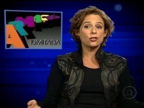 Andrea Beltrão recorda de Zelda Scott, de Armação Ilimitada, no Memória Globo - Jornalista trabalhava no jornal 'Correio do Crepúsculo' e odiava seu chefe