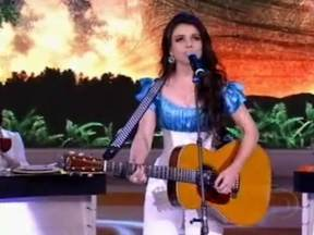 Indicados Melhores do Ano 2011 - categoria música do ano: Pra Você - A música de Paula Fernandes é uma das indicadas