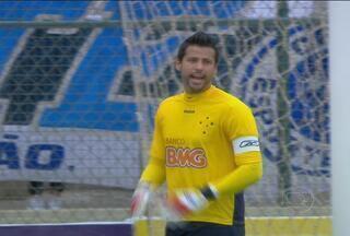 Fábio pode atingir uma marca importante na partida contra a Caldense - Se as redes do cruzeiro não balançarem, Fábio chegará a cinco jogos sem ter sofrido nenhum gol, um recorde pessoal.