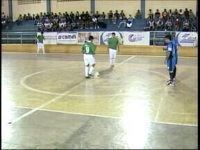 Copa Integração de Futsal tem rodada dupla na regional Araxá / Divinópolis - Quatro times se enfrentaram na terceira rodada