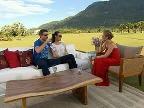 Angélica bate um papo com Murilo Rosa e Fernanda Tavares - O casal fala sobre o relacionamento que construiu e também sobre o filho, Lucas