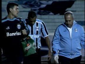 Lesões andam atrapalhando o Grêmio em 2012 - Mais novo jogador no departamento médico, Marcelo Moreno pode parar por duas semanas.