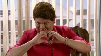 Dilma faz pronunciamento para brigar com o povo brasileiro - A presidenta do Brasil garante que só está fazendo isso porque ama a população
