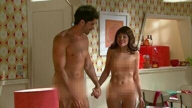 Maria e Robson provam que os BBBs também amam - A gata sai de casa para participar de um reality show e volta com um namorado de fachada