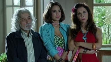 Amor Eterno Amor - Capítulo de quinta-feira, dia 19/04/2012, na íntegra - Valéria, Carmem e Zé chegam a casa de Rodrigo