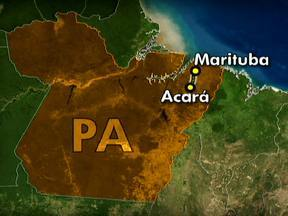 Oito pessoas morrem em acidente grave no Pará - Um motorista perdeu o controle da direção de um micro-ônibus e bateu de frente em uma carreta. Segundo o Corpo de Bombeiros, 14 feridos foram levados para o Hospital Metropolitano, em Belém.