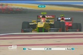 Brasiliense Felipe Nasr larga em trigésimo e chega em sexto na GP2 - Depois de bater na primeira corrida, Felipe Nasr faz corrida de recuperação na segunda prova do fim de semana. Ele é o sexto colocado na classificação geral da categoria.