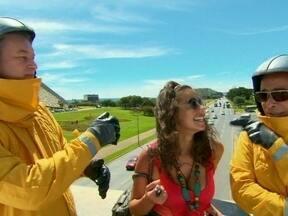 O Núcleo de Pesquisas Maracutaicas da NASA chega a Brasília - Pesquisadores querem saber o motivo de tanta bandalheira no nosso país