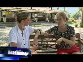 Prestes a ser mamãe de novo, Angélica participou do programa ´Vamos Combinar´ - Apresentadora bateu um papo especial com Mariana Weickert