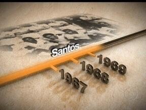 Santos pode ser tricampeão paulista pela terceira vez - Apenas cinco clubes conseguiram a façanha de erguer três taças seguidas. Peixe tenta repetir o feito, conquistado em 60/61/62 e em 67/68/69. Para tentar conquistar o campeonato, a equipe de Neymar enfrenta o Guarani.