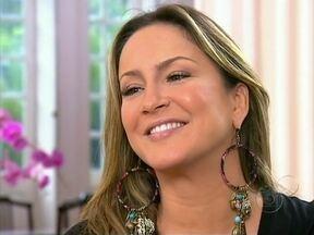 Exclusivo: Clauda Leitte revela o sexo do seu bebê - Em bate-papo com Angélica, a cantora revelou ainda o nome que dará ao filho.