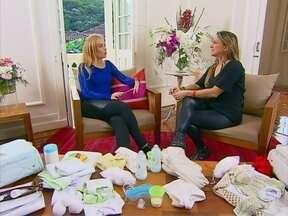 Claudia Leitte revela o nome de seu segundo filho para Angélica - A cantora e Angélica bateram um papo sobre maternidade