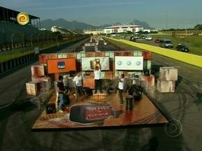Marco vence a segunda edição do Ruim de Roda - Ele, o pior motorista do Brasil, fez a prova em 7 minutos e 11 segundos.