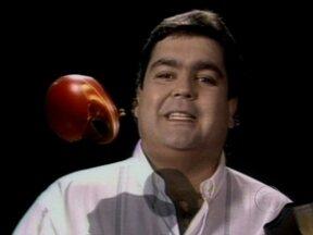 Relembre a primeira abertura do Domingão do Faustão - Programa estreou há 23 anos, na TV Globo
