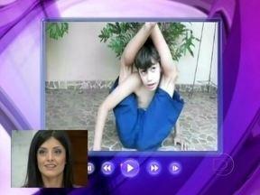 Confira vídeos de contorcionismos que fazem sucesso na internet - Ana mostra vídeos de contorcionistas que postaram suas habilidades em vídeos na internet