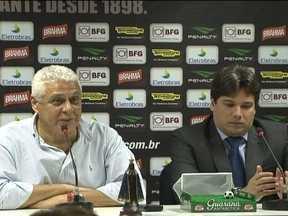 Vasco anuncia novo patrocinador, e Dinamite afirma que salários serão regularizados - Presidente fala sobre as dificuldades do clube de pagar em dia.