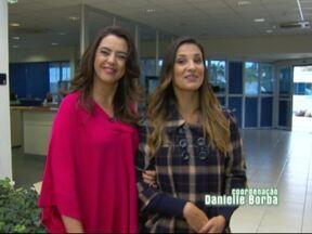 Qual a surpresa que a Luciana Martins preparou para Dani Borba? - A partir do próximo programa o Jogo de Cintura chega cheio de novidades, na companhia das duas apresentadoras e mais cedo às 8h30 da manhã.