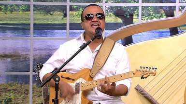 Ouça o samba-rock de Caio Costa - O É Bem Mato Grosso começa às 13h50, todos os sábados, na TV Centro América.