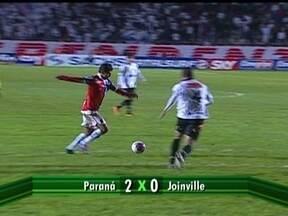 Pela Série B, Guarantiguetá e Avaí ficam no 1 a 1, enquanto Paraná fez 2 a 0 no Joinville - Baggio foi o destaque da partida entre paulistas e catarinenses. Tricolor paranaense chega a sua terceira vitória consecutiva.