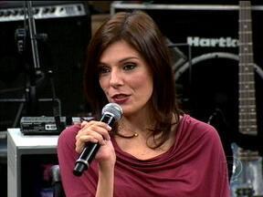 Flávia Cintra fala sobre o seu acidente e a parceria com Alinne Moraes - Atriz fala sobre a importância da jornalista na criação da Luciana, de Viver a Vida