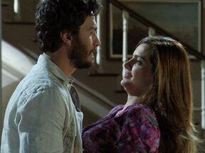 Amor Eterno Amor - Capítulo de Sábado, dia 30/06/2012, na íntegra - Elisa afasta Rodrigo e pede tempo para ficar sozinha