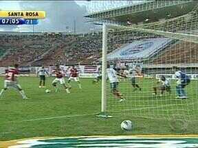 Encontro entre Inter e Falcão acaba em empate na Bahia - Partida terminou em 1 a 1.