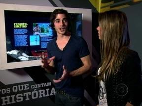 Fiuk e Dani Monteiro visitam a exposição Senna Emotion, no Rio - Evento é uma homenagem a Ayrton Senna