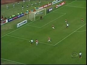 Encontro entre Falcão e Inter acaba em empate cordial - Partida disputada na Bahia terminou em 1 a 1.