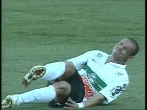 Coritiba ganha problemas médicos para final da Copa do Brasil - Dupla de atacantes deve ficar fora dos treinos da semana e do jogo contra Palmeiras