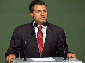 Partido Revolucionário Institucional elege novo presidente do México - Cada eleitor recebeu uma marca no dedo polegar para evitar fraudes, mas houve rumores de compra de votos. Enrique Peña Nieto foi eleito no domingo e já prometeu reformas.