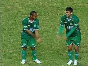 Guarani comemora gol com hit das 'Empreguetes', mas sofre empate - Pênalti do gol do América-MG foi polêmico.