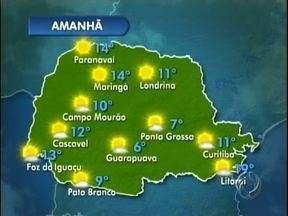 Não saia de casa sem dar uma olhada na previsão do tempo - Neste domingo não deve chover e as temperaturas sobem um pouco na região de Londrina. Tem também os detalhes da previsão para os próximos dias.