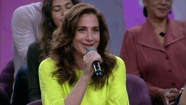 Totia Meireles comenta sobre sua personagem em Divã - Ela interpretava uma mulher segura no auge dos 50 anos