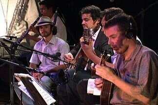 Instrumentistas apresentam composições inéditas de Sarrafo - Músicos do grupo Choro Opus Trio fizeram uma apresentação no Teatro Aracy Balabanian, em Campo Grande. Os instrumentistas resgataram composições de um mestre da música popular brasileira: Amintas José da Costa, o Sarrafo.