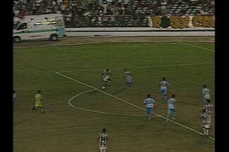 Treze vence Paysandu por 1 a 0 no Amigão - Com gol de Brasão, o Galo consegue sua primeira vitória na Séria C do Brasileirão e deixa a lanterna do Grupo A.