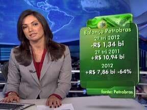 Presidente da Petrobras explica as causas do prejuízo da empresa - Graça Foster afirmou que a defasagem entre o preço internacional do petróleo e o praticado pela Petrobras e a redução da produção nos poços explicam o prejuízo de R$ 1,3 bilhão no segundo trimestre. Mas ela disse que isso não se repetirá.
