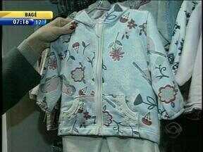 Vestuário infantil segue tendência de imitar roupas de adultos - Alguns cuidados devem ser tomados na hora de escolhere peças de roupa para os pequenos.