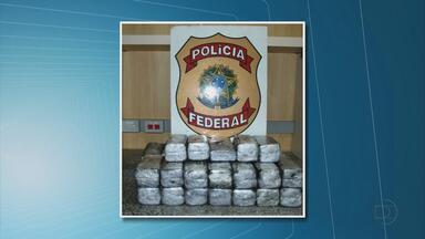 Polícia Federal apreende 33,8 quilos de haxixe no Recife - A droga estava com um mecânico, que é do Tocantins e morava em Goiás. Suspeito foi encaminhado ao Cotel, em Abreu e Lima.