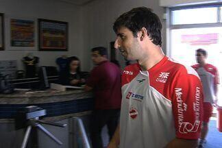 Vila Nova apresenta volante Mancuso - Jogador estava no Ipatinga e já defendeu o Itumbiara no Campeonato Goiano. Pedro Júnior pode deixar o time.