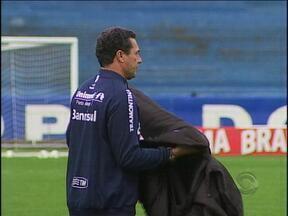 Luxa prega a importância de vencer sempre no Brasileiro - Para o treinador, empate não é bom resultado.