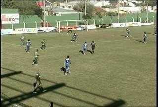 Riograndense empata com o Guarany de Camaquã - Partida foi ontem no estádio dos Eucaliptos