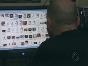 Polícia apreende computador com vídeos de sexo explícito com crianças e adolescentes - O dono do equipamento foi preso em flagrante.