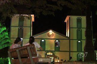 Comemorações aos 100 anos do Santuário em Trindade já começaram na cidade - O Santuário Matriz do Divino Pai Eterno, em Trindade, completa 100 anos no próximo mês, mas as comemorações já começaram na cidade.