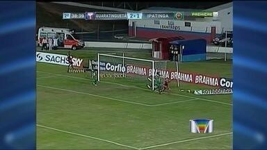 Guaratinguetá vence Ipatinga e deixa a lanterna - Depois de sete jogos, o Guaratinguetá finalmente venceu pela Série B do Campeonato Brasileiro por 3 a 1 do Ipatinga e saiu da lanterna.