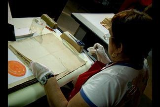 Conheça os tesouros da história do Pará guardados no arquivo público - Local guarda mais de 4 milhões de documentos. Peças estão sendo digitalizadas.
