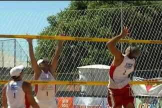 Desafio de vôlei de praia em Bacabal - Competição teve participação de atletas de cinco estados