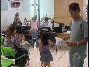Pais aproveitam o sábado para atualizar a vacinação das crianças - As unidades de saúde abriram o dia todo.